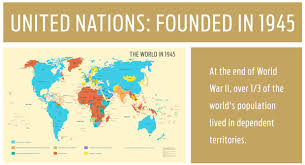 un map the united nations and decolonization maps