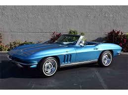 1965 chevy corvette for sale 1965 chevrolet corvette for sale on classiccars com 88 available