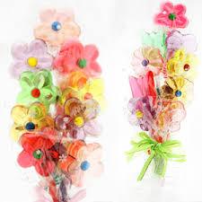 lollipop bouquet lollipop bouquet favor garden theme wedding favors wedding