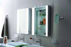 one door mirror cabinet with led mirrors