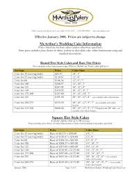 Bakery Price List Template Creative Of Wedding Cakes With Prices And Pictures Wedding Cake