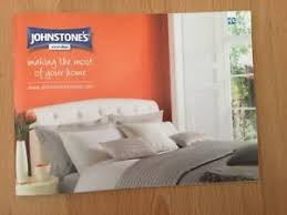 johnstone u0027s paint colour guide booklet 30 pages pull out chart new