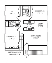 Two Bedroom Floor Plan by Apartments In Indianapolis Floor Plans