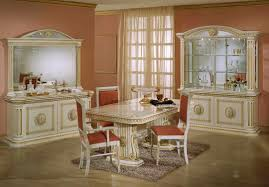 Italian Dining Room Table Rossella Italian Classic Dining Set