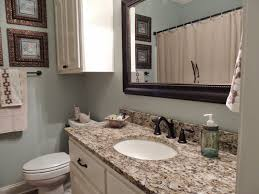 guest bathroom renovation rainwashed by sherwin williams st