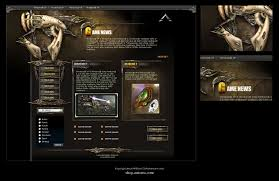 game design template game site template by karsten on deviantart