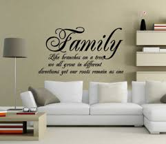 family sayings wall quotes ideas home interior exterior