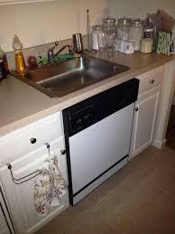 kitchen sink cabinet with dishwasher sink dishwasher space saver sink dishwasher