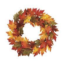 thanksgiving wreath 24 inch fall maple leaf wreath thanksgiving wreath richards expo