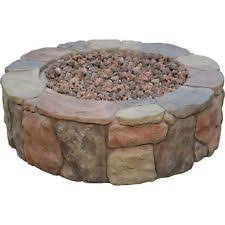Lava Rock For Fire Pit by Bond Mfg 67456 Pinyon Gas Stone Look Fire Pit 28 By 9 1