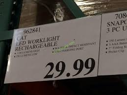 cat rechargeable led work light costco costco 962841 cat led worklight rechargeable tag costcochaser