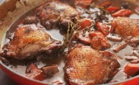 cuisiner un coq au four le coq au vin au four traditionnel aubonheurduvin fr