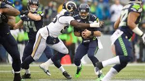 Tim Barnes St Louis Rams St Louis Rams Sack Seattle Seahawks