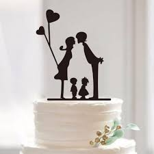 family wedding cake toppers title charmerry