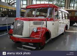 opel blitz a red and white coloured opel blitz bus is pictured at the new