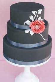 wedding cake with black fondant a wedding cake blog