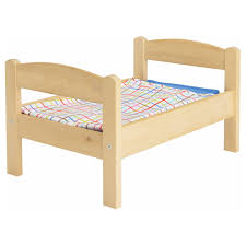 duktig doll bed with bedlinen set ikea