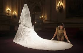 display wedding dress kate middleton s wedding dress the admired goes on display