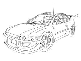 coloring pages drifting cars car drawings outline search cars to draw