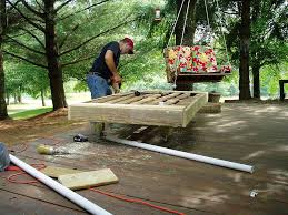 Diy Outdoor Daybed Ondawayto Somewhere The Pallet Daybed