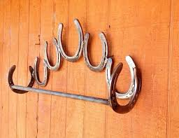 handmade horseshoes handmade shoe decor bathroom towel by kadyskustomkrafts