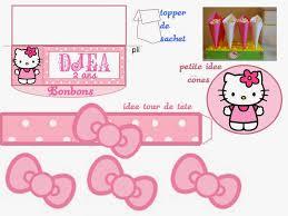 printable hello kitty birthday party ideas hello kitty free printable kit hello kitty party pinterest