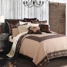quilt bedding set barbed wire u0026 stars western quilt set king set