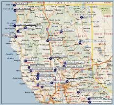 me a map of california northern california regional directory in map northern