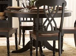 Round White Kitchen Table Iron by Homelegance Ohana 48in Round Dining Table Black 1393bk 48