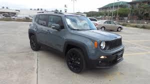 2017 jeep altitude black new 2017 jeep renegade latitude 4x4 sport utility in honolulu