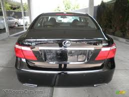 black lexus 2008 2008 lexus ls 460 in obsidian black photo 4 071594