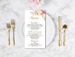 Wedding Menu Template 15 Wedding Menu Card Designs Design Trends Premium Psd