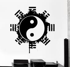 aliexpress com buy removable cool vinyl wall sticker buddha aliexpress com buy removable cool vinyl wall sticker buddha yinyang floral religion wall mural art home wall decoration yoga meditation decal w 873 from