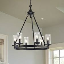 Wine Barrel Chandelier For Sale Farmhouse Chandeliers Birch Lane