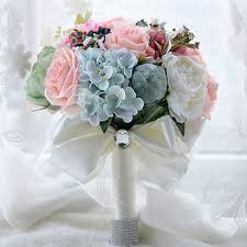 fleur artificielle mariage magnifique bouquet de mariage coloré de mariée bouquet simulation
