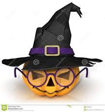 funny jack o lantern halloween pumpkin with purple glasses