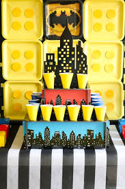 Batman Table Decorations Lego Batman Party Ideas