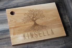 engravable cutting boards personalized wood cutting board family tree rc tree 46 00