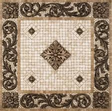kitchen medallion backsplash metal mural bellagio mosaic tile backsplash medallion 24 inches