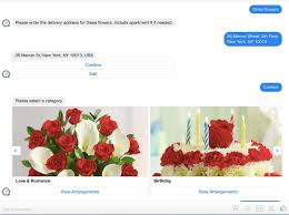 order flowers two months in how the 1 800 flowers bot is working out
