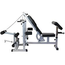 Weight Bench Leg Exercises Mirafit Multi Function Gym Weight Bench With Preacher Curl
