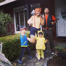 Misty Pokemon Halloween Costume 5yo Son Obsessed Pokemon U0026 Requested Ash Costume