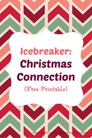 icebreaker christmas connection free printable free printable