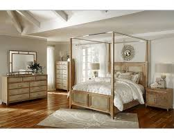 aico canopy bedroom set biscayne in sand color ai 80100 102set
