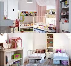 chambre a deux lits aménagement chambre deux enfants 25 idées astucieuses