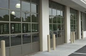 Glass Overhead Garage Doors Commercial Glass View Door Repair And Installation Curb