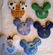 disney salt dough ornaments annette wishesfamilytravel com