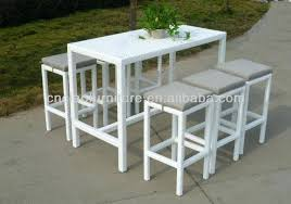 High Bar Table Set Outdoor Bar Height Table Awesome Patio Bar Dining Set Outdoor Bar