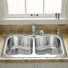 Kitchen Products - Kohler double kitchen sink