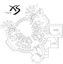 xs nightclub floor plan thefloors co